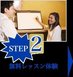 STEP.2:無料レッスン体験