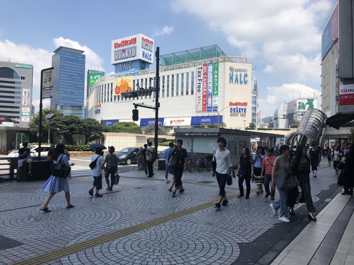 新宿駅西口前