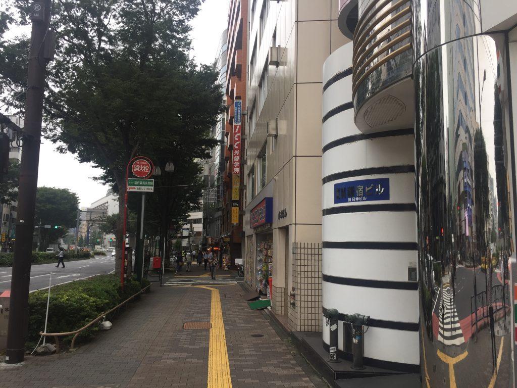 新宿 英会話 セブンイレブン